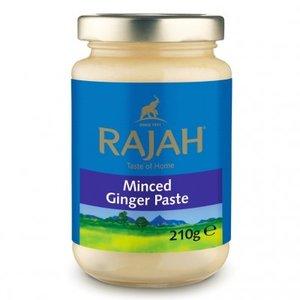 Rajah Minced Ginger Paste, 210g