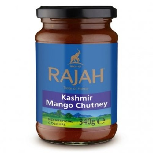 Rajah Kashmir Mango Chutney, 340g