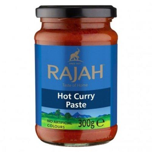 Rajah Hot Curry Paste, 300g
