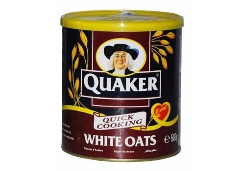 Quaker White Oats, 500g
