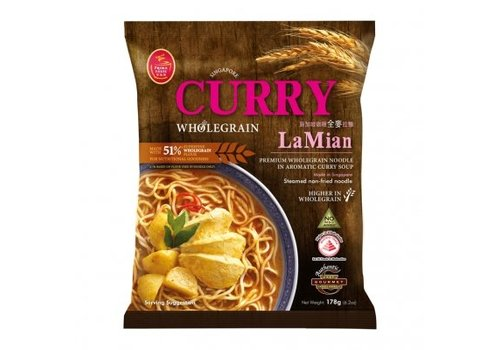 Prima Taste Wholegrain Curry La Mian, 178g