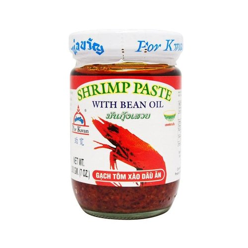 Por Kwan Shrimp Paste with Bean Oil, 200g