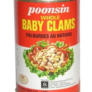 Whole Baby Clams, 285g