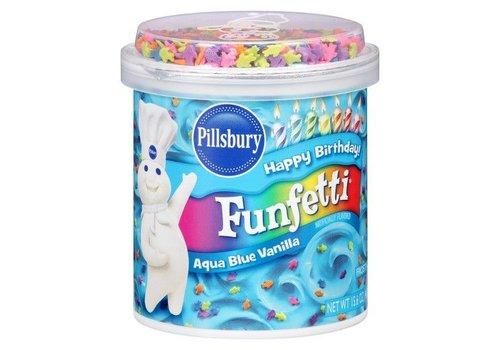 Pillsbury Aqua Blue Vanilla Frosting, 442g