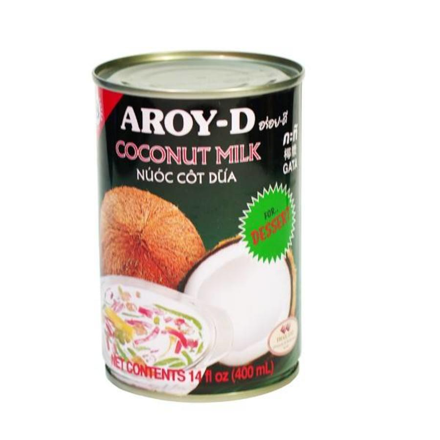 Aroy-D Coconut Milk for Dessert, 400 ml
