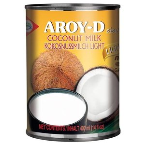 Aroy-D Coconut Milk Lite, 400ml