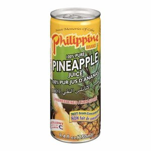 Philippine Brand Pineapple Juice, 250ml