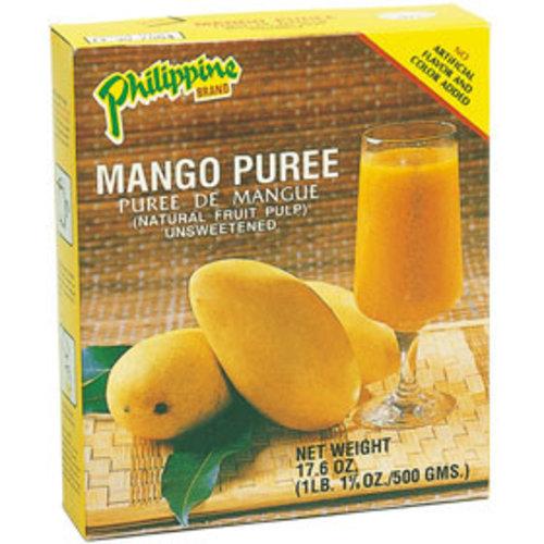 Philippine Brand Mango Puree Unsweetened, 500g