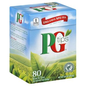 PG Tips Tea, 80 Bags