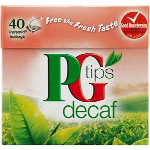 PG Tips Tips Decaf, 40 stuks