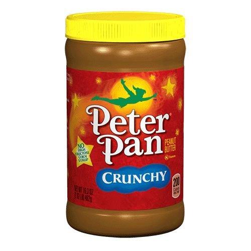 Peter Pan Crunchy Peanut Butter, 454g