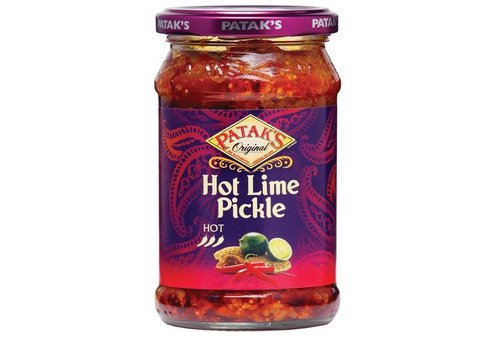 Pataks Hot Lime Pickle, 283g
