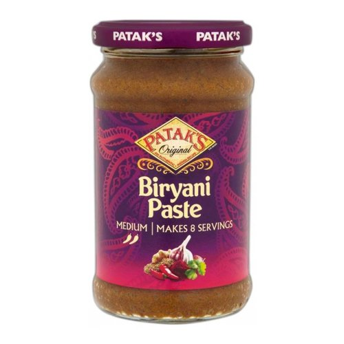 Pataks Biryani Curry Paste, 283g