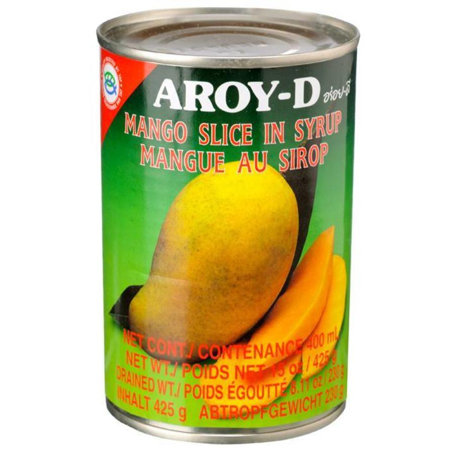 Aroy-D Mango Slice in Syrup, 400ml