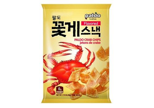 Paldo Crab Chips, 50g