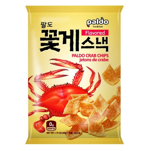 Paldo Crab Chips, 50g