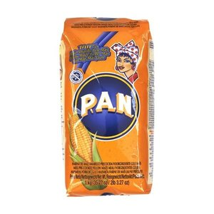 P.A.N. Harina PAN Yellow Mais Flour, 1kg
