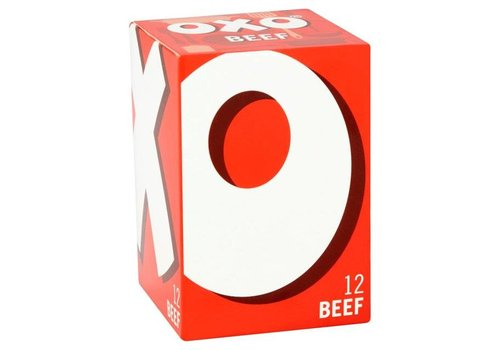 OXO Beef Cubes, 71g