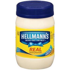 Hellmann's Real Mayonnaise, 444ml