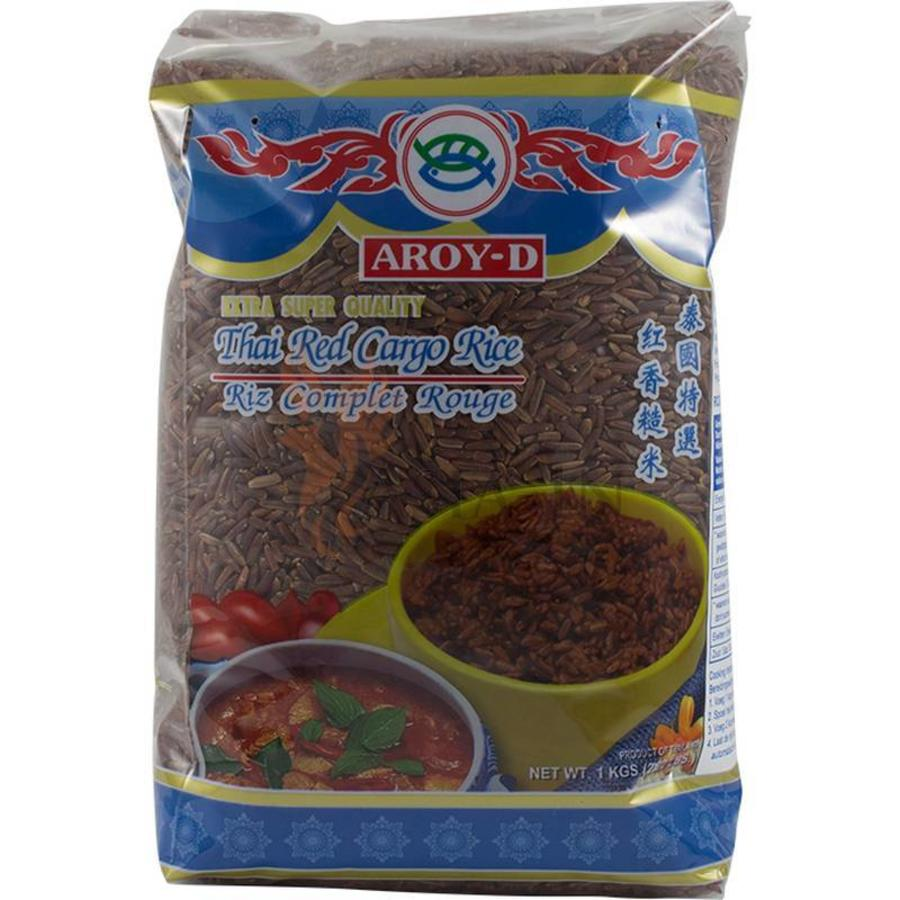 Aroy-D Red Cargo Rice, 1kg