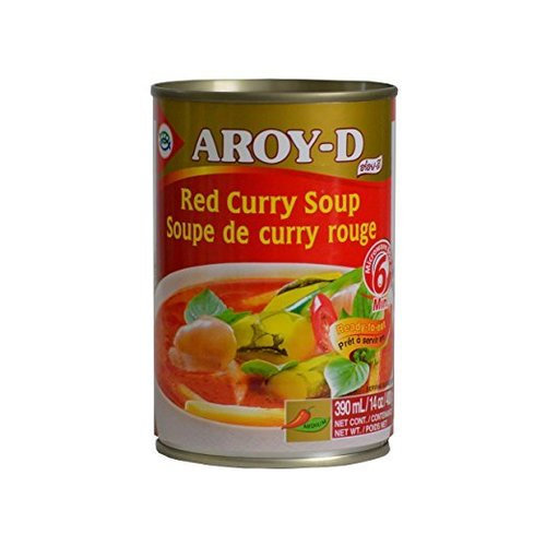 Aroy-D Red Curry Soup, 400g