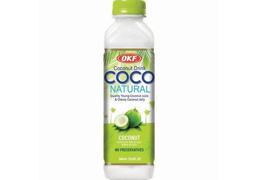 OKF Coconut Juice with Jelly, 500ml