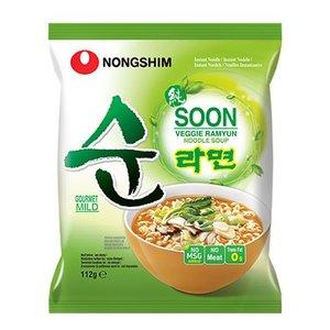 Nongshim Soon Veggie Ramyun, 112g