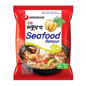 Nongshim Seafood Ramyun, 125g
