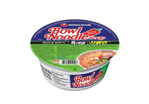 Nongshim Hot & Spicy Bowl, 86g