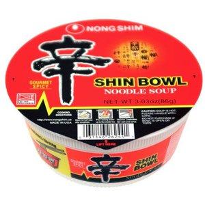Nongshim Shin Bowl, 86g