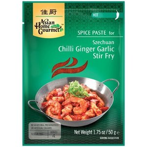 Asian Home Gourmet Chilli Ginger Garlic Stir Fry, 50g