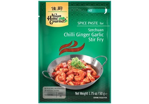 Asian Home Gourmet Chilli Ginger Garlic Stir Fry, 50g