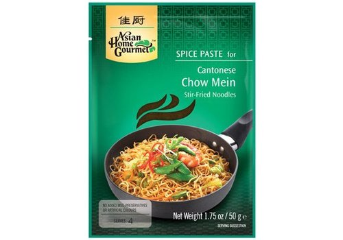 Asian Home Gourmet Chow Mein Spice Paste, 50g