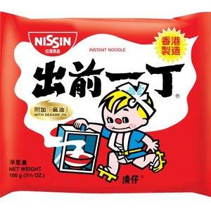 Nissin Instant Noodles Sesame Oil, 100g