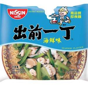 Nissin Instant Noodles Seafood Flavor, 100g