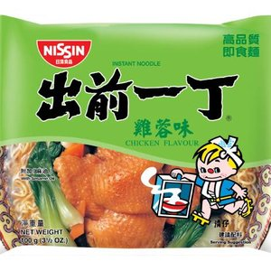 Nissin Instant Noodles Chicken Flavour, 100g