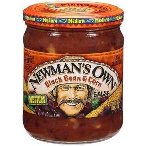 Newman's Own Black Bean & Corn Salsa, 453g