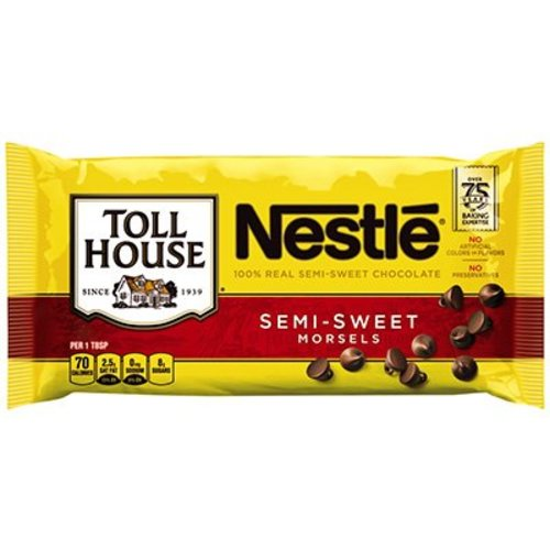 Nestle Semi Sweet Chocolate Morsels, 170g
