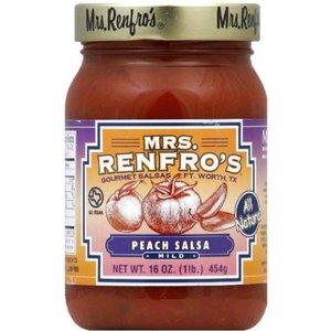 Mrs. Renfro's Peach Salsa, 454g