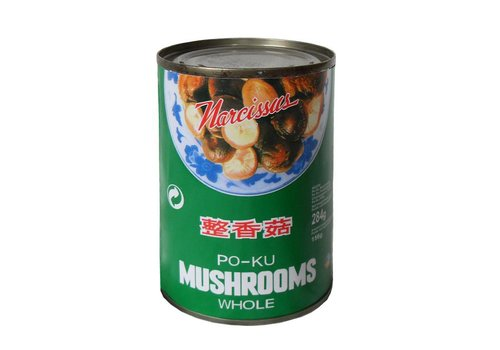 Po-Ku (Shiitake) Mushrooms, 284g