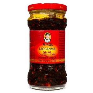 Lao Gan Ma Peanuts Chilli Oil, 275g