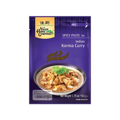 Asian Home Gourmet Korma Curry, 50g