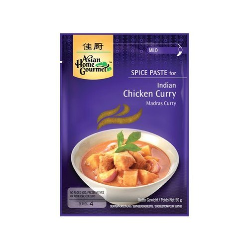 Asian Home Gourmet Madras Curry, 50g