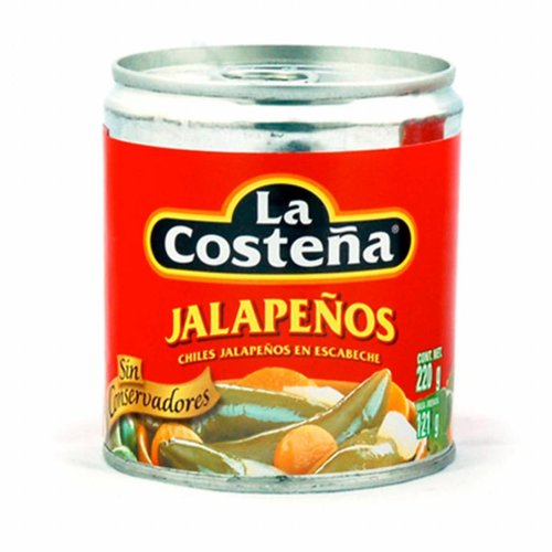 La Costena Whole Jalapenos, 220g