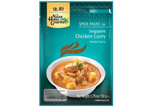 Asian Home Gourmet Nonya Curry, 50g