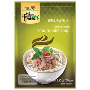 Asian Home Gourmet Pho Noodle Soup, 50g