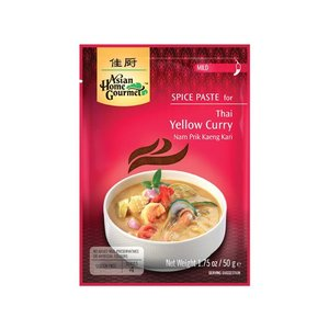 Asian Home Gourmet Yellow Curry, 50g