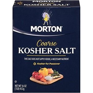 Morton Kosher Salt, 453g