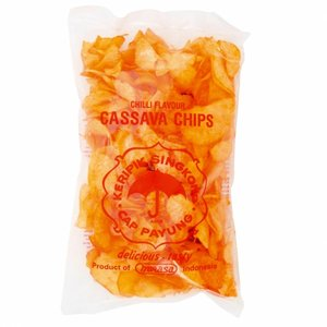 Cassava Chips Hot, 250g