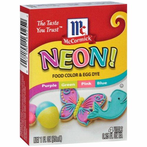 McCormick Neon Food Color, 29ml